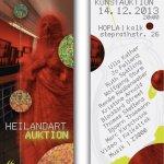 Heilandart Auktion 2013 - Cafe hopla