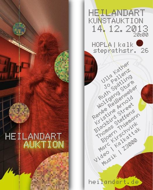 Heilandart Flyer 2014